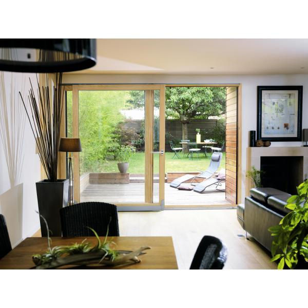 baie coulissante bois elva menuiserie. Black Bedroom Furniture Sets. Home Design Ideas