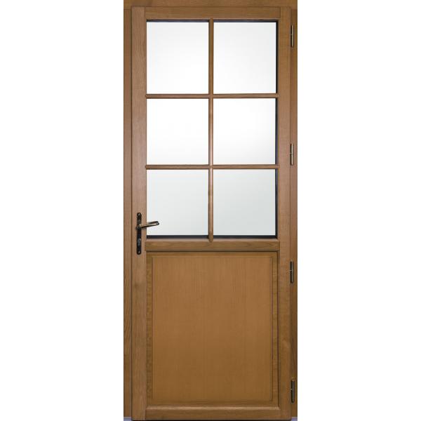 Porte d 39 entr e mixte bois alu je compose ma porte - Porte d entree mixte alu bois ...