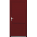 Porte de service mixte bois alu - Modèle PSMBA1