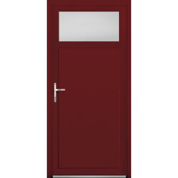 porte de service mixte bois aluminium mod le psmba2. Black Bedroom Furniture Sets. Home Design Ideas