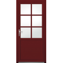 Porte de service mixte bois alu - Modèle PSMBA3