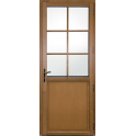 porte d'entrée mixte bois alu