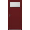Porte de service mixte bois alu - Modèle PSMBA2